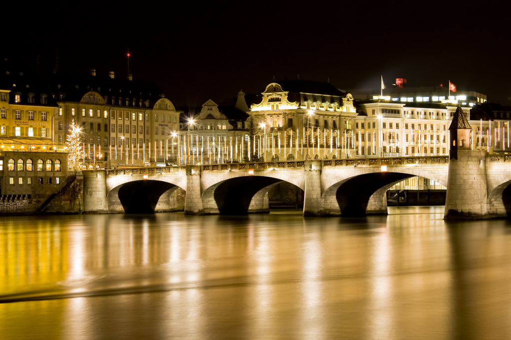 "Mittlere Brücke Basel (Bild: son_gismo, Wikimedia, <a rel=""nofollow"" href=""https://creativecommons.org/licenses/by/3.0/deed.de"" target=""_blank"">CC</a>)"