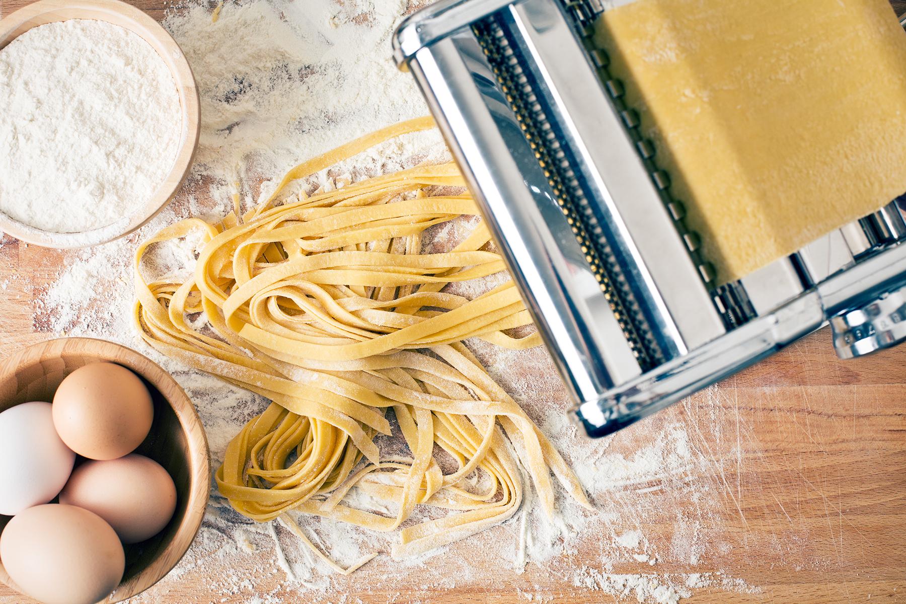 Leckere Pasta selbst gemacht
