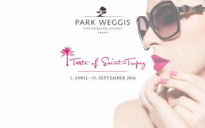 Park Weggis – Taste of Saint Tropez