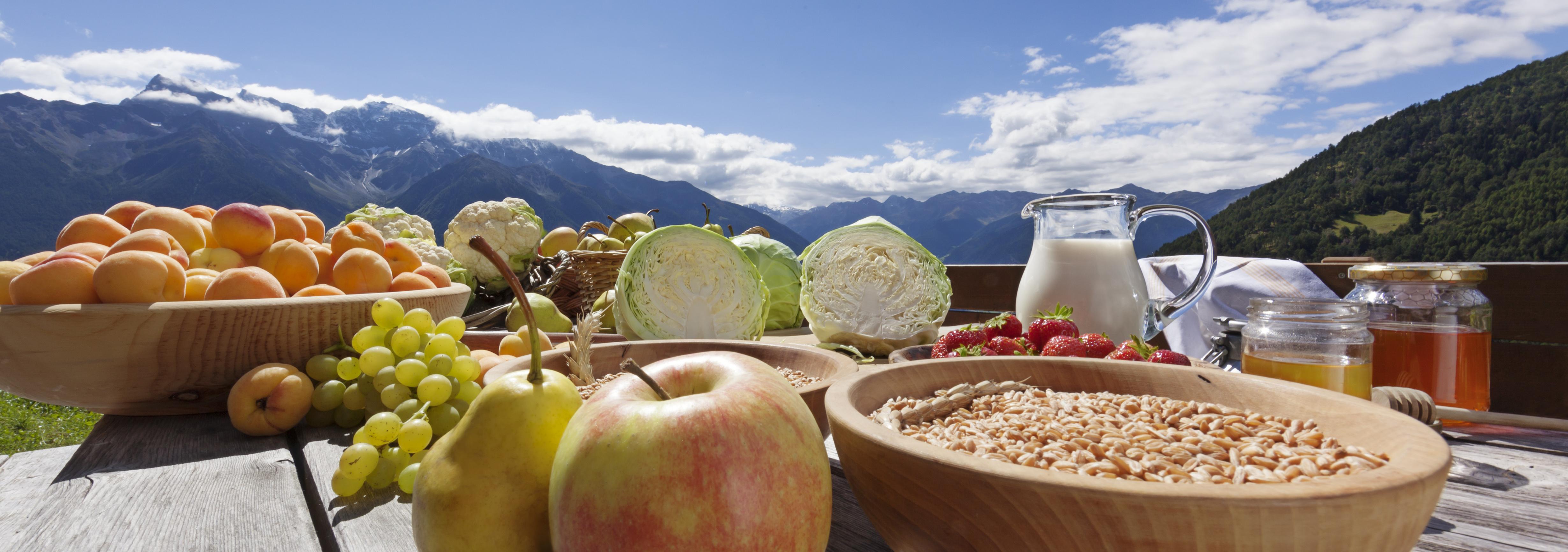Köstlichkeiten an der 2. Vinschger Herbstauslese