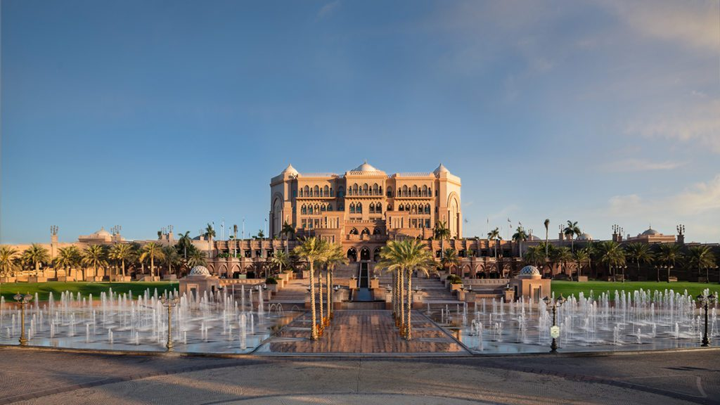 Emirates Palace Fountains Day (© Emirates Palace Abu Dhabi)