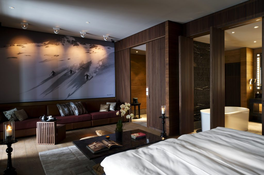 Deluxe Room (© The Chedi Andermatt)