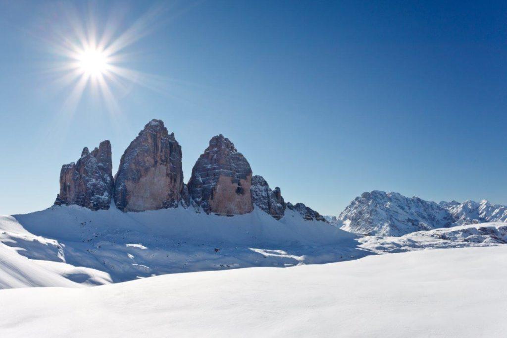 Abfahrtsgaudi bis zum Schluss in der Dolomitenregion Drei Zinnen (© Drei Zinnen Marketing/K.Peterlin)
