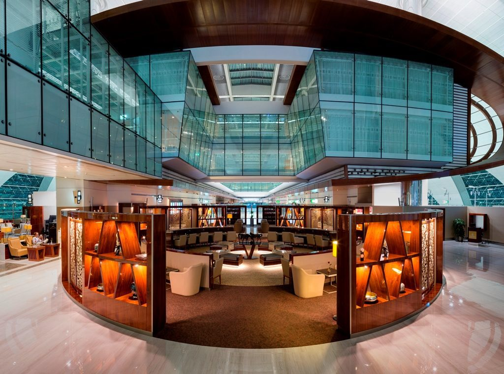 Business-Class-Lounge - Dubai International Airport (Bild: © Emirates)