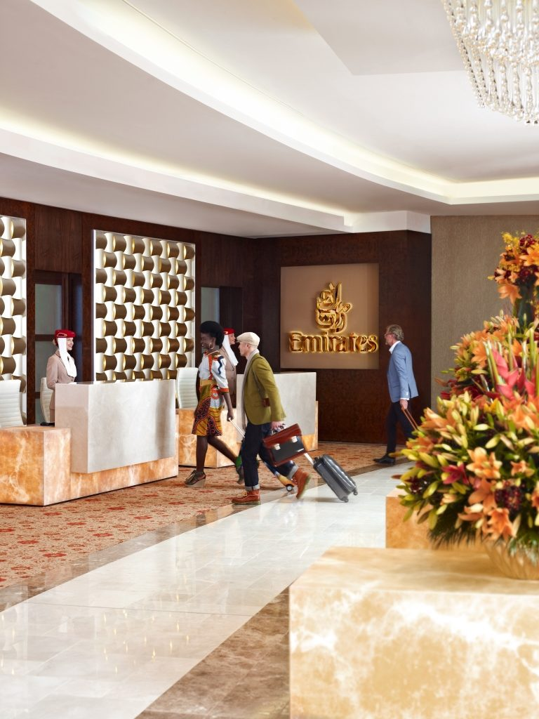 First Class Lounge - Dubai Internation Airport (Bild: © Emirates)
