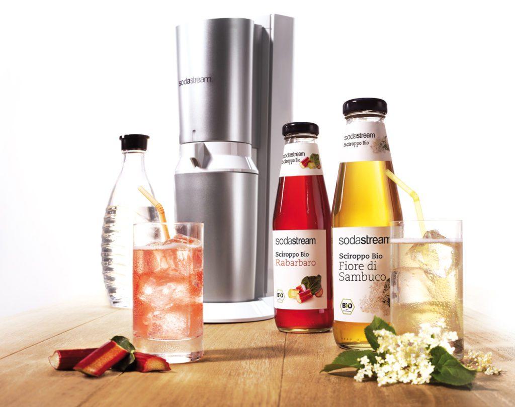 Die neuen «Bio-Sirups» von SodaStream bestehen zu 100% aus rein biologisch angebauten Zutaten. (Bild: © PPR/SodaStream)
