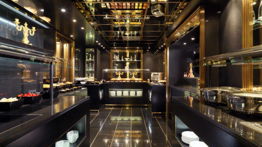 Die Showküche der Bristol Lounge (© Hotel Bristol Wien)