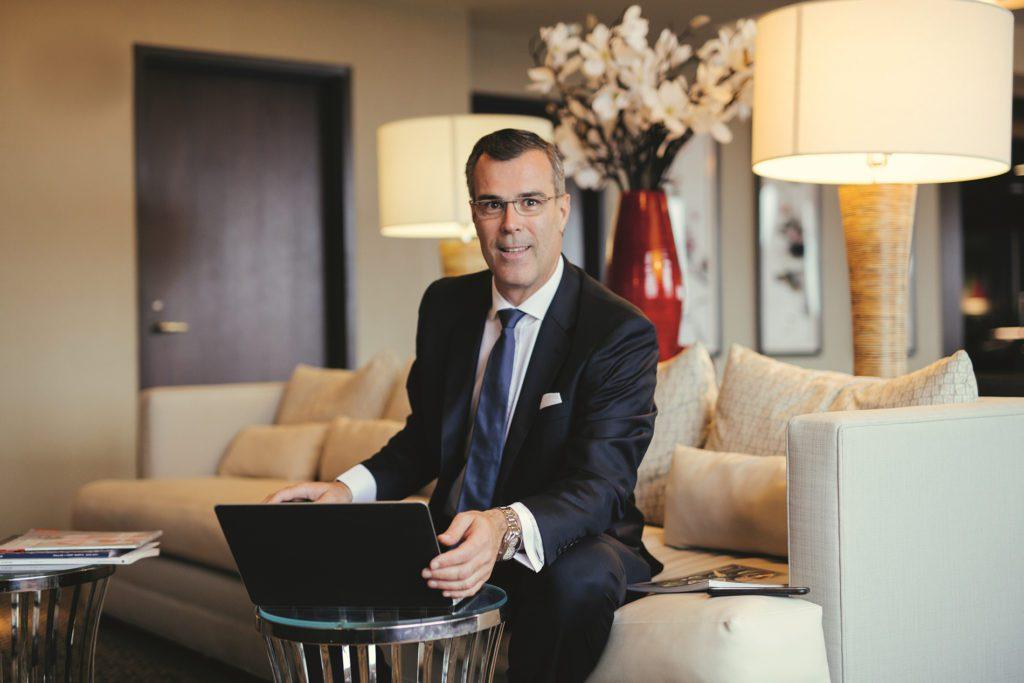Mövenpick Hotels & Resorts CEO und Präsident Olivier Chavy