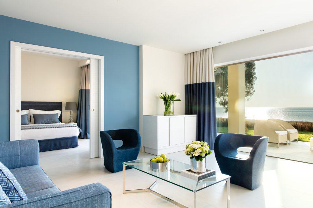 Sani Club: Zimmer mit Privat-Garten (Bild: © Sani Resort)
