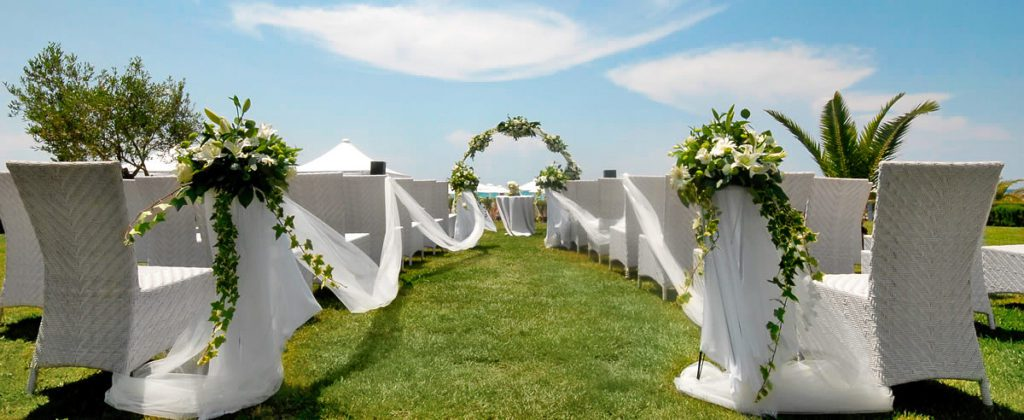 Sani Resort Wedding (© Saint Resort)