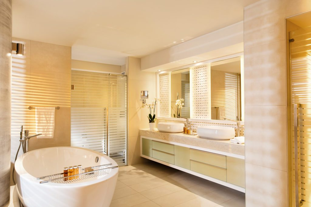 Sani Dunes: Badezimmer (Bild: © Sani Resort)