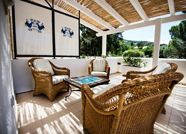 Terrasse 2 (c) Dolce Vita Hotel