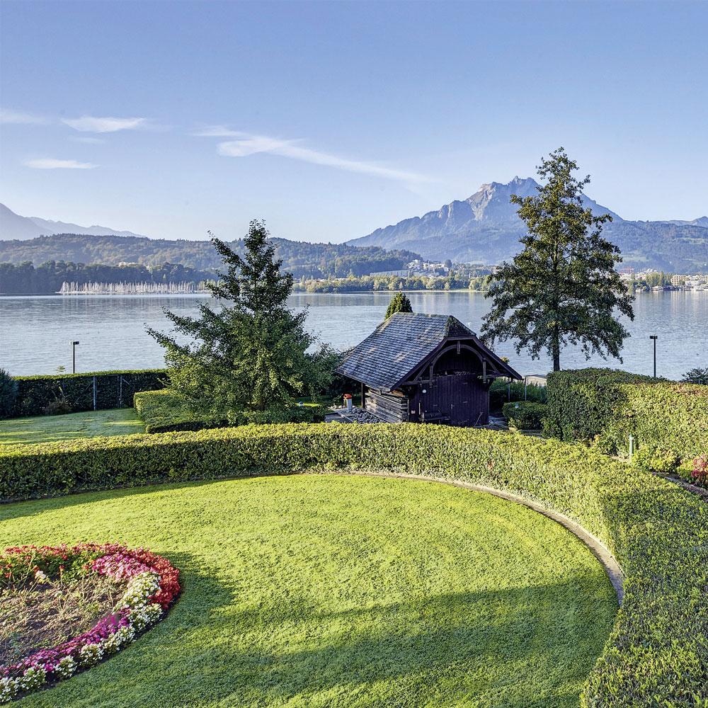 Villa Schweizerhof Aussicht (Bild: © Villa Schweizerhof)
