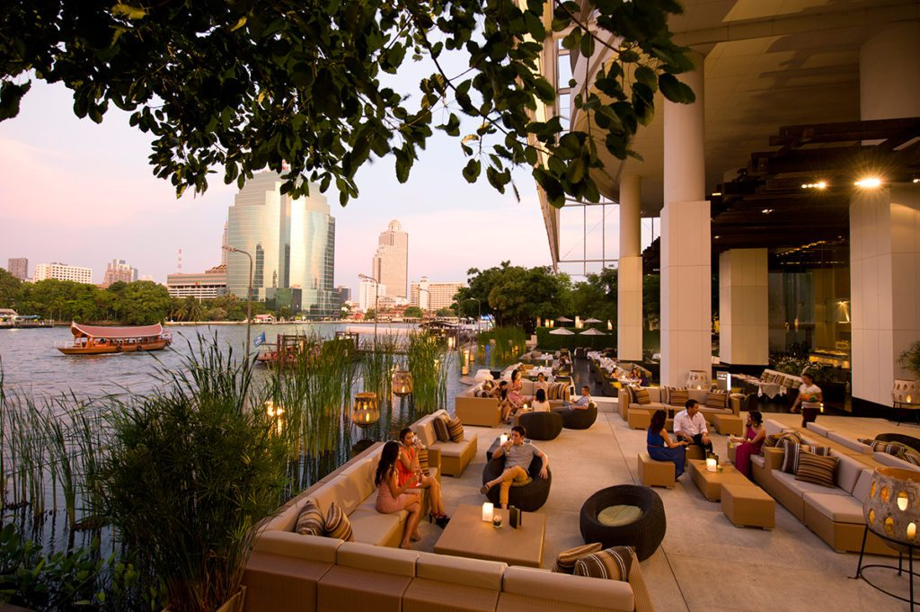 View (© Millennium Hilton Bangkok)