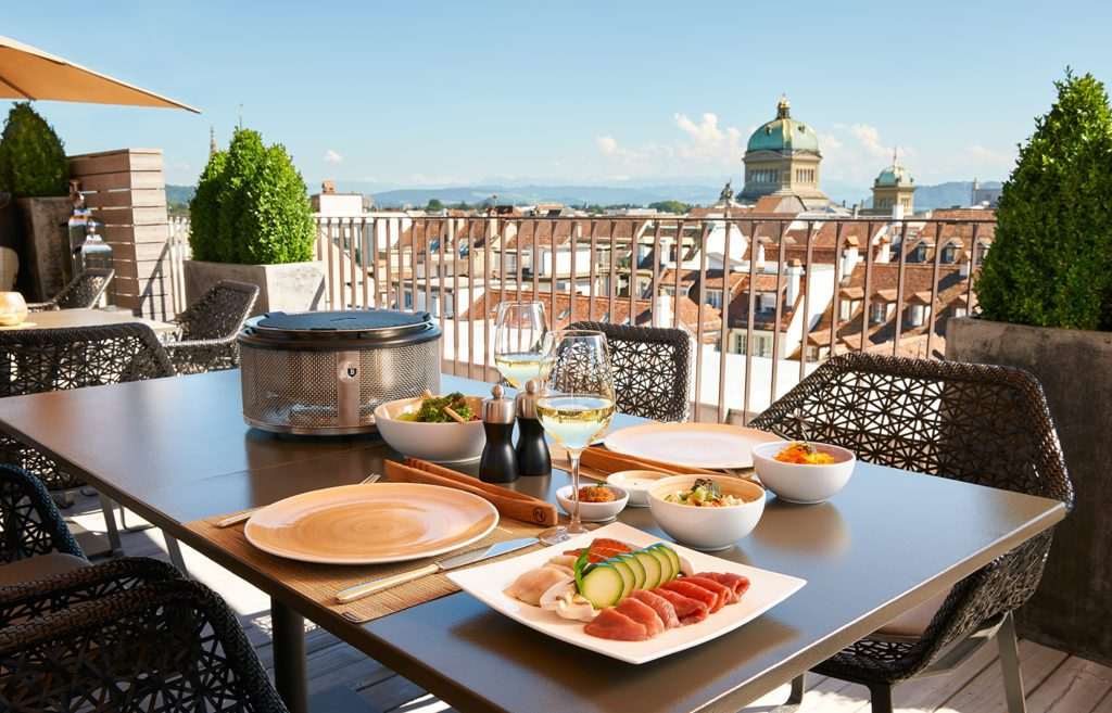 Arabic Grill - Sky Terrace (© Hotel Schweizerhof Bern)