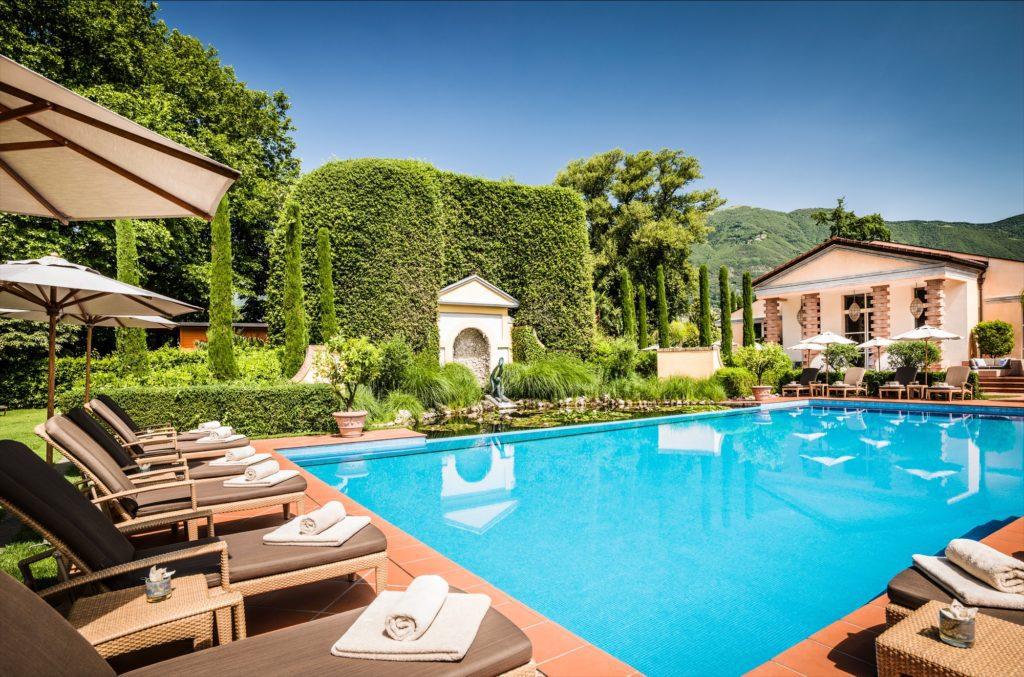 Hotel Giardino Ascona - Pool (© Giardino Group AG)