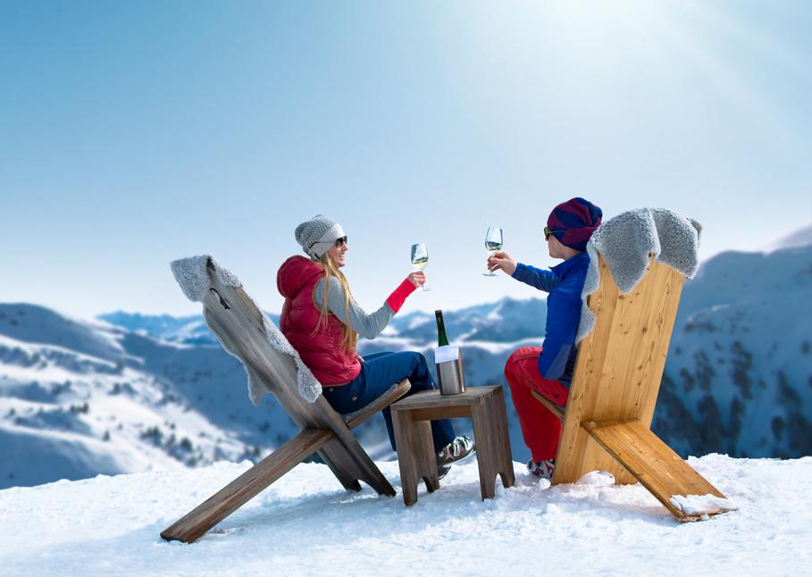 Die Vielfalt der Menüs auf den Skihütten in Schladming-Dachstein bereichert das touristische Angebot, und das honorieren die Gäste. (