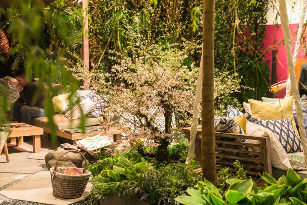 Giardina 2017 | Fokusthema |Neue Natuerlichkeit | Cocooning nature | Berger Gartenbau, Livingdreams