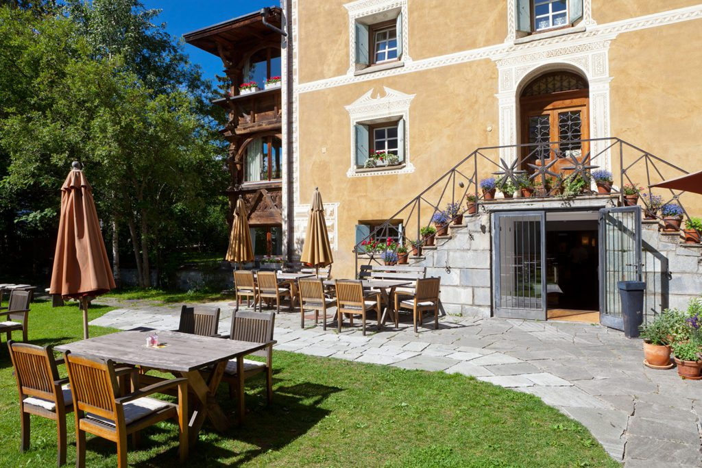 Hotel Chesa Salis - Garten (© Garten Hotels Schweiz)