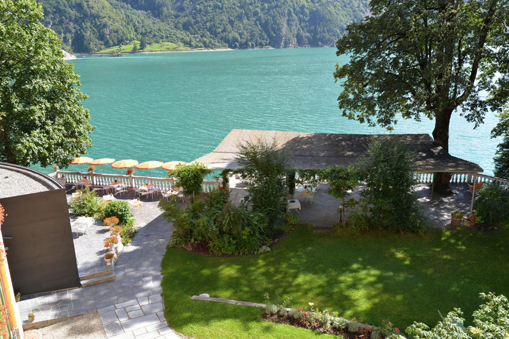 Hotel Le Prese - Garten (© Garten Hotels Schweiz)