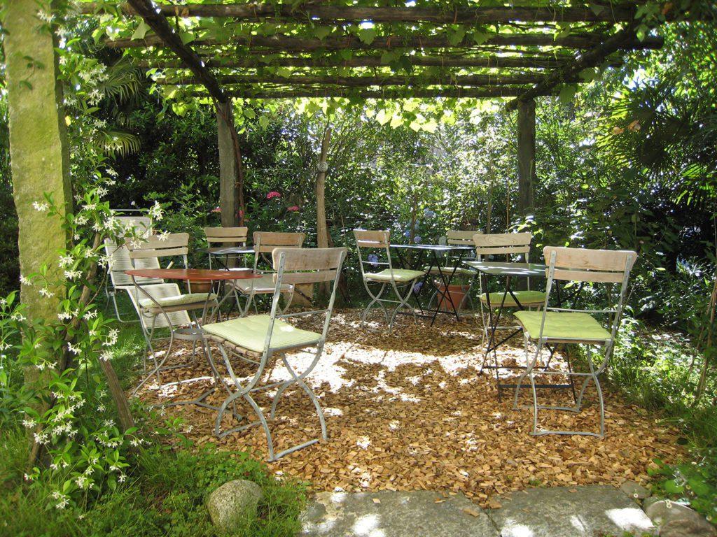 Hotel Novecento - Garten Terrasse (© Garten Hotels Schweiz)