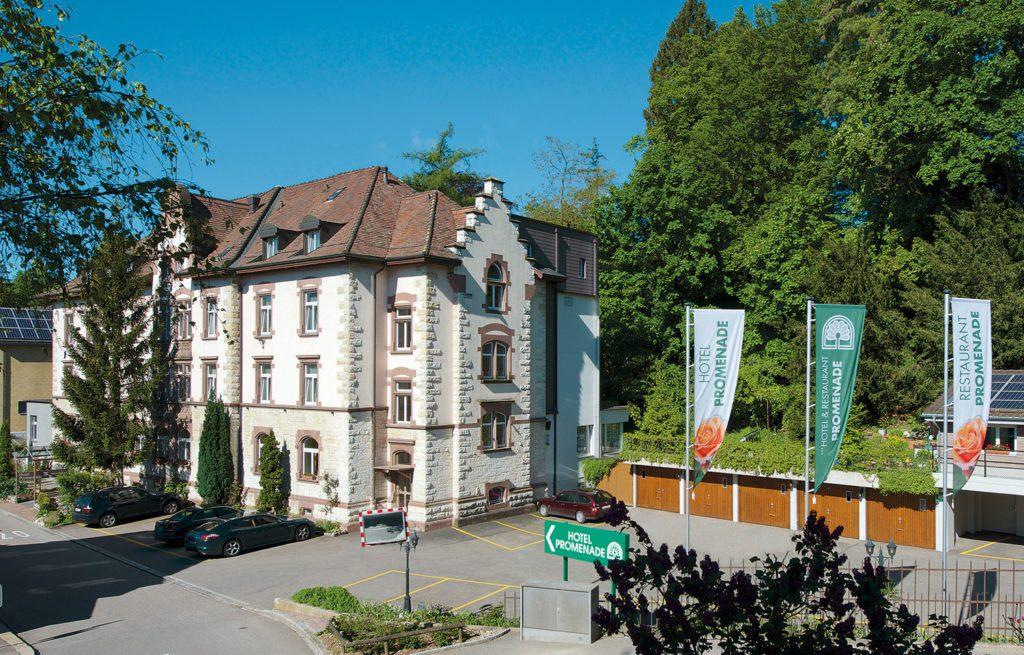 Hotel Promenande Schaffhausen - Hausansicht (© Garten Hotels Schweiz)