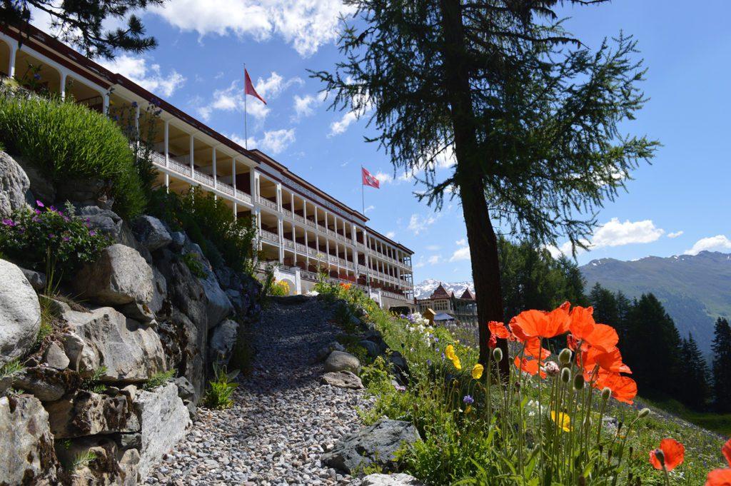 Hotel Schatzalp - Hausansicht (© Garten Hotels Schweiz)