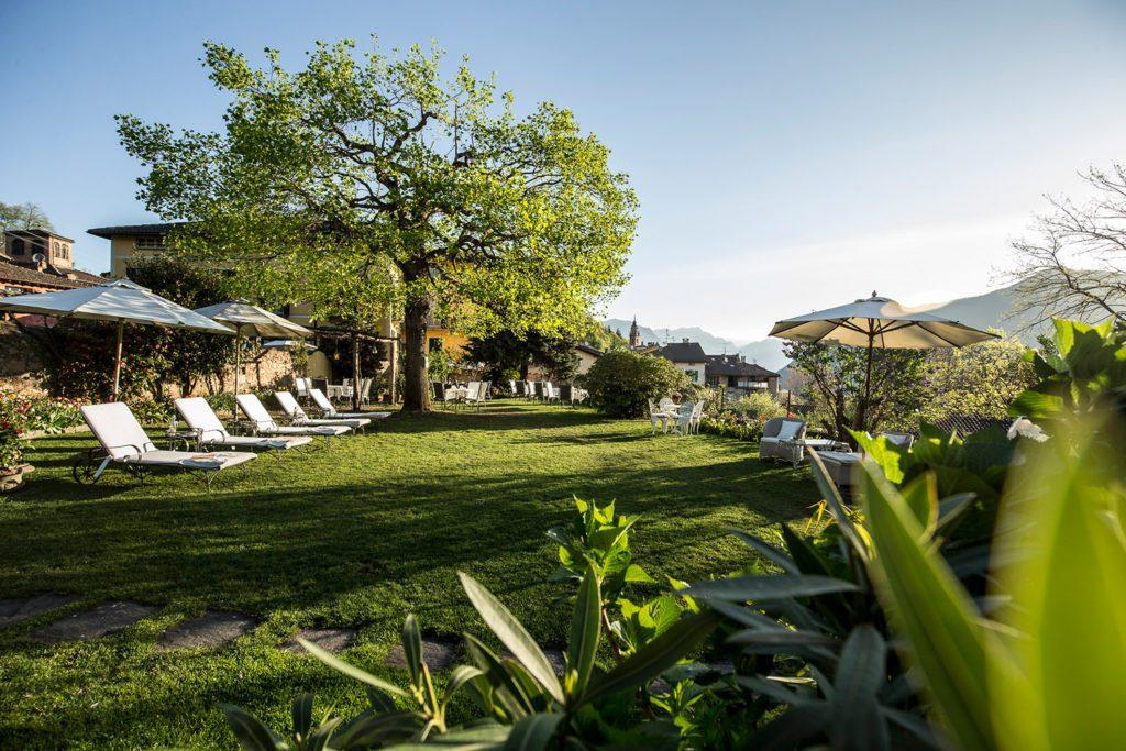 Hotel Villa Corona - Garten (© Garten Hotels Schweiz)
