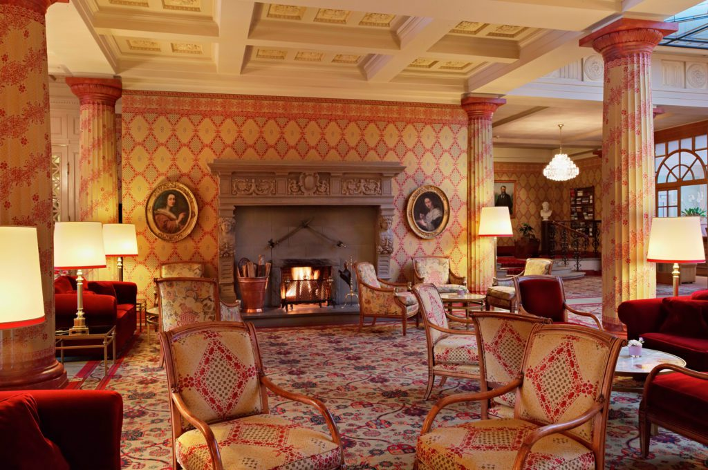 Lobby Kulm Hotel (© Kulm Hotel)
