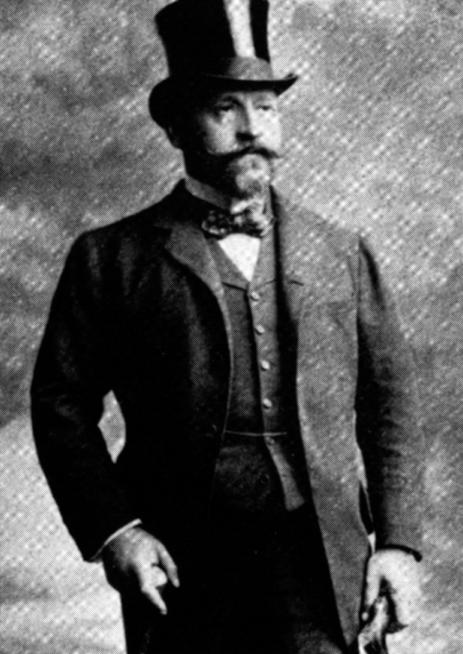 Ernest Cassel 1906 (© Pro-Natura-Zentrum)