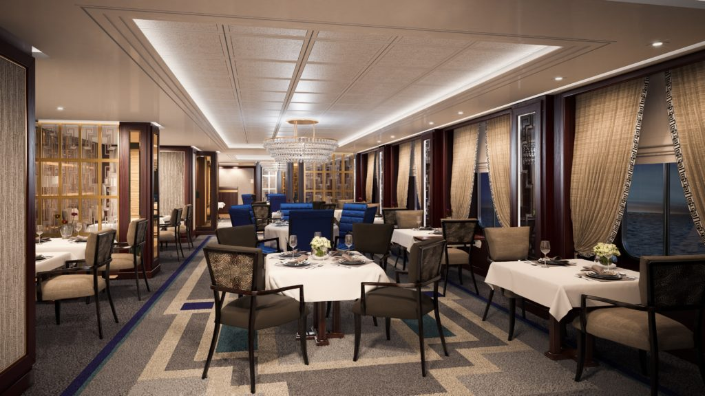 Queen Victoria - Britania Club Restaurant (© INEX Communications)