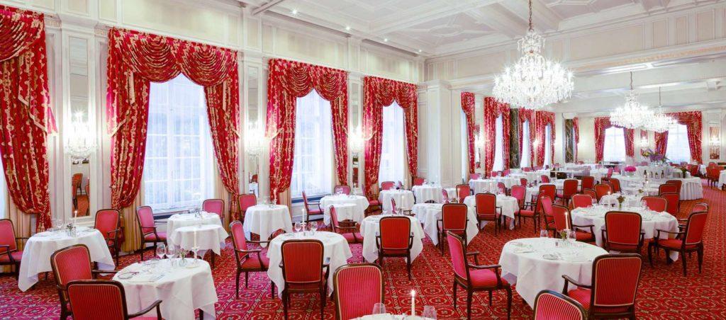Grand Restaurant (© Kulm Hotel)