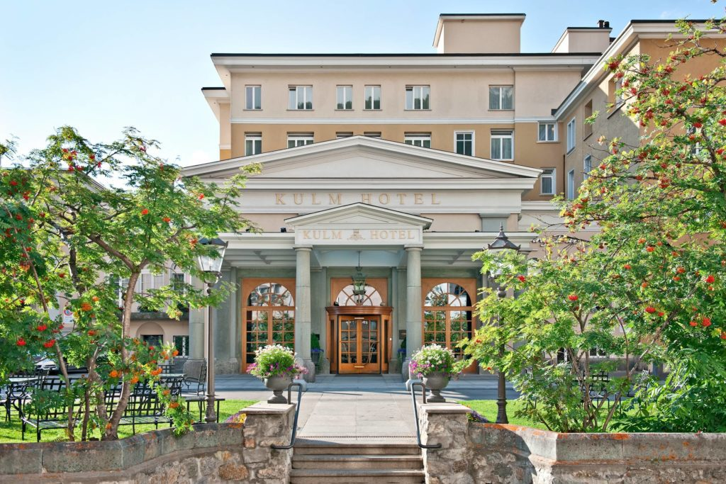 Entrance Kulm Hotel (© Kulm Hotel)