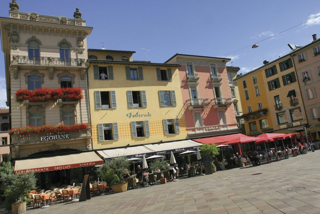Lugano im Tessin (© Ticino Turismo)