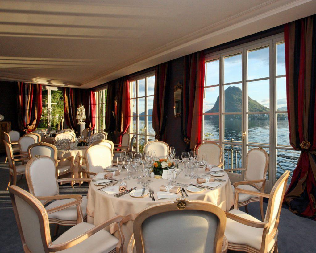 Restaurant Galleria Arté al Lago, Salon (© Remy Steinegger)