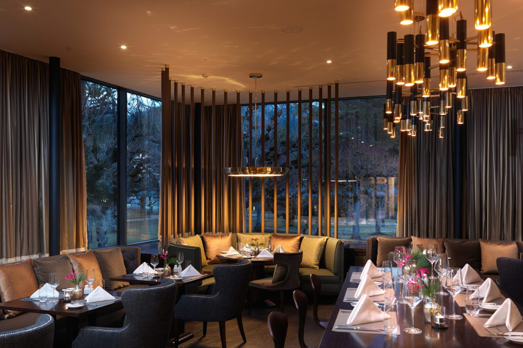 Restaurant The Grand (© Waldhaus Flims)