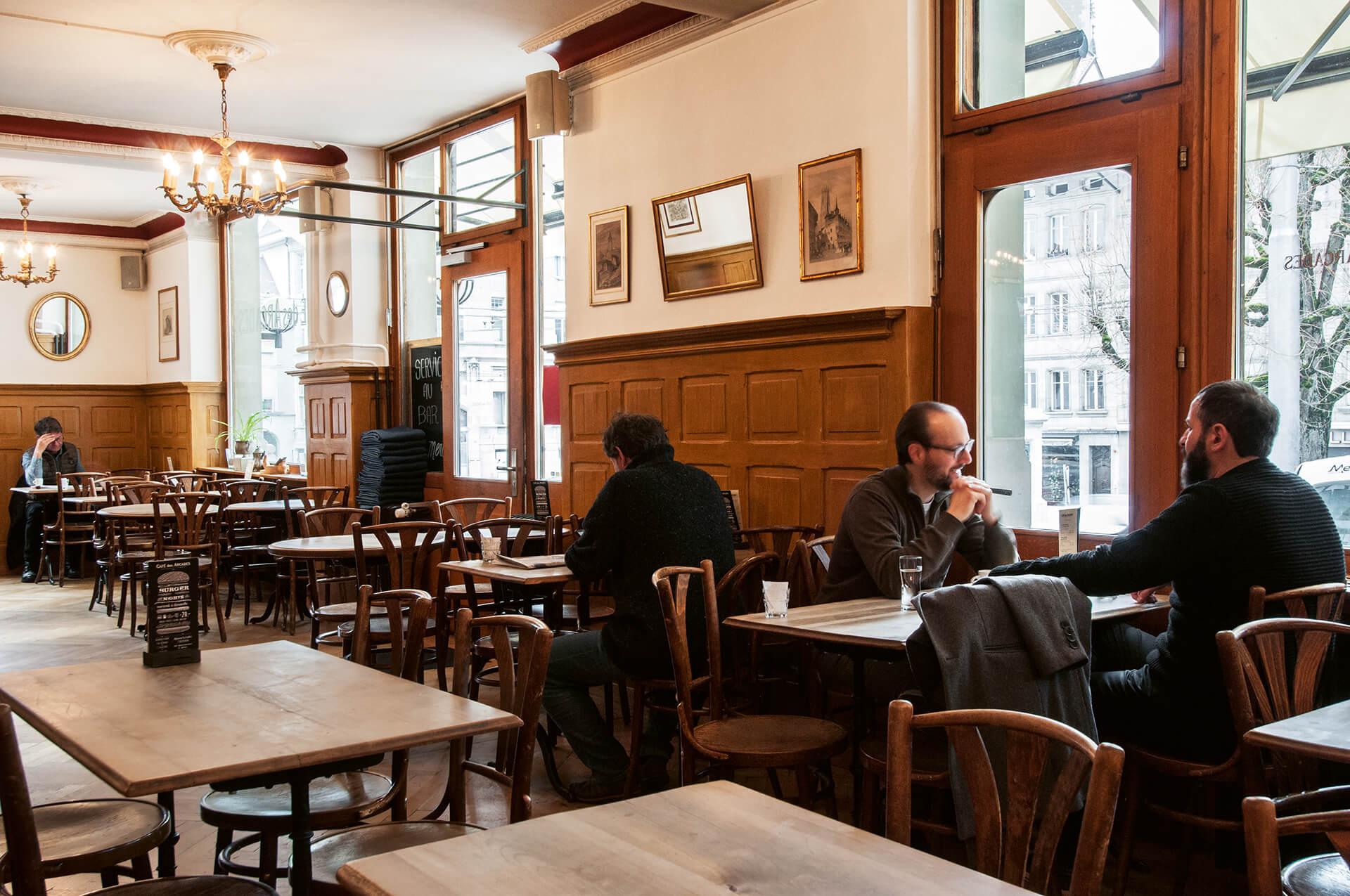 Café des Arcades, Fribourg FR