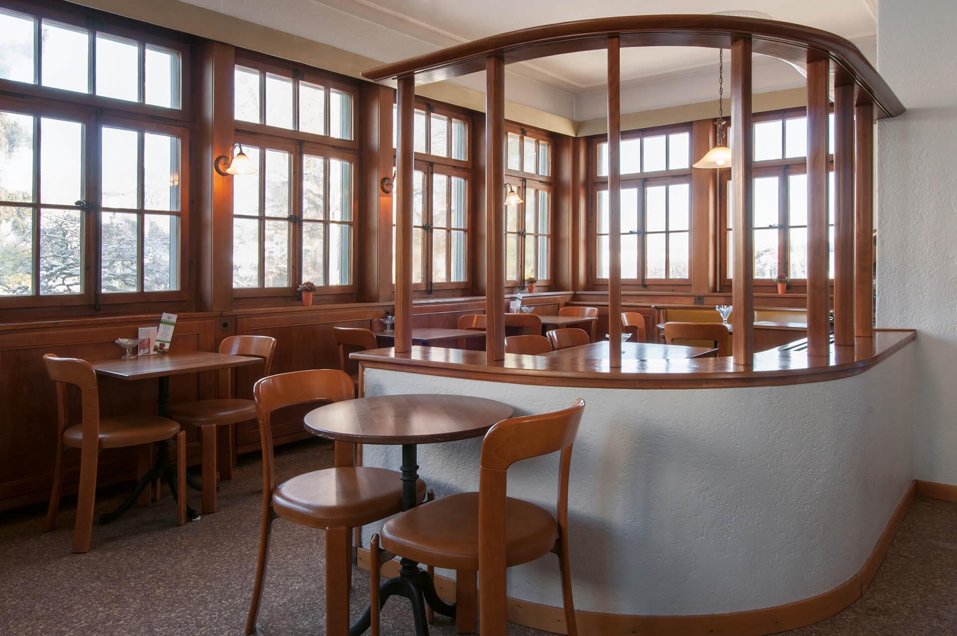 Tea Room Heinlein, Spiegel bei Bern BE