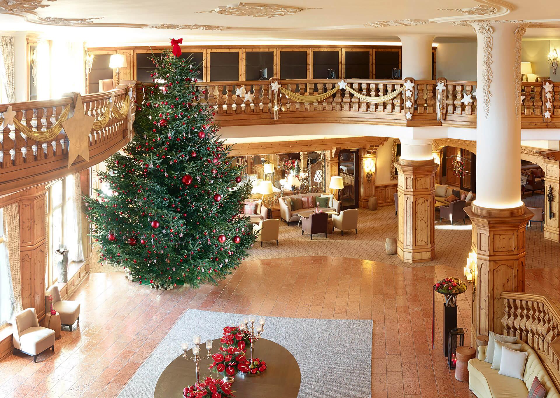 Interalpen-Hotel Tyrol_Weihnachtsbaum