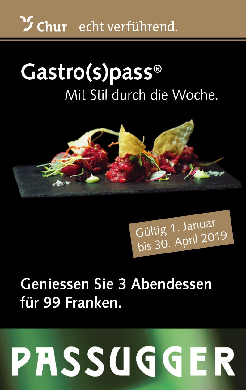 Titelseite Gastro(s)pass 2019