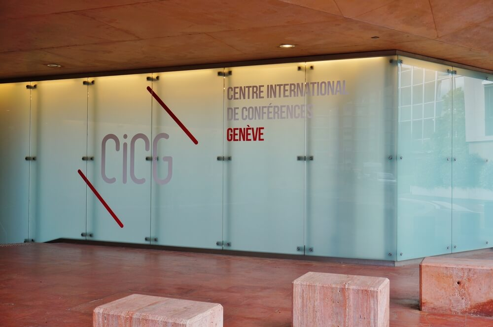 Die Schweiz ist Gastgeberin des 42. Weltkongresses für Rebe und Wein im Internationalen Konferenzzentrum Genf. (Bild: EQRoy – shutterstock.com)