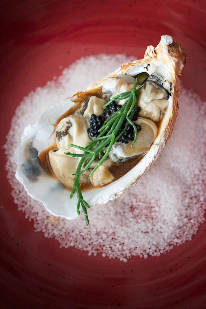 Tartar mit Austern von der Austernfarm Moinho dos Ilhéus, Algarve, Portugal / Rezept: Noélia Jéronimo (Bildquelle: Markus Bassler)