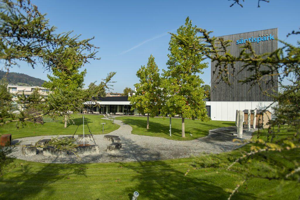 Das Hotel Säntispark mit dem attraktiven Freizeitzentrum bietet Spass für die ganze Familie. (Bild: zVg)